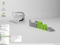 Linux Mint Xfce Live DVD Desktop