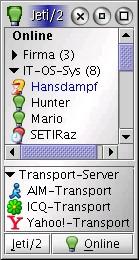 Jeti/2 / XMPP Client